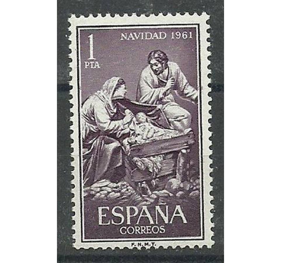 Hiszpania 1961 Mi 1295 Czyste **