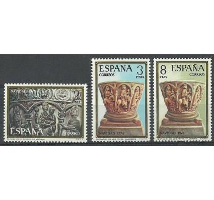 Znaczek Hiszpania 1974 Mi 2112-2114 Czyste **