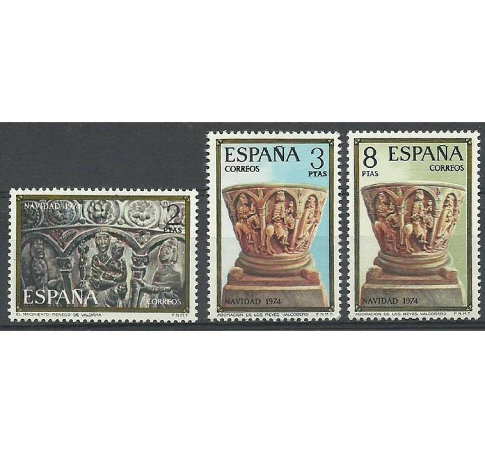 Hiszpania 1974 Mi 2112-2114 Czyste **