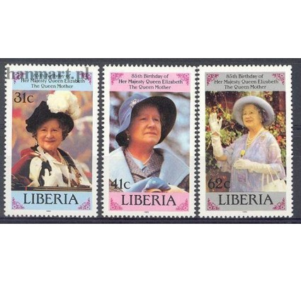 Znaczek Liberia 1985 Mi 1343-1345 Czyste **