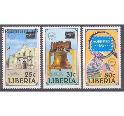 Liberia 1986 Mi 1349-1351 Czyste **