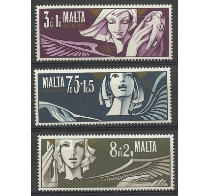 Znaczek Malta 1972 Mi 454-456 Czyste **
