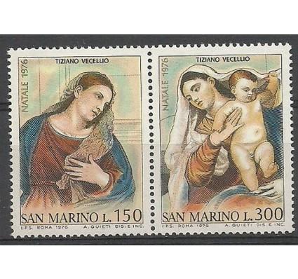 Znaczek San Marino 1976 Mi 1125-1126 Czyste **