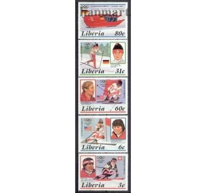 Liberia 1987 Mi 1355-1359 Czyste **