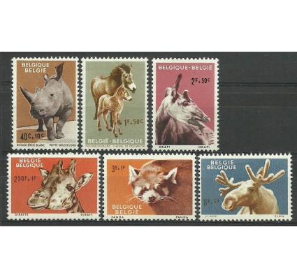 Znaczek Belgia 1961 Mi 1242-1247 Z podlepką *