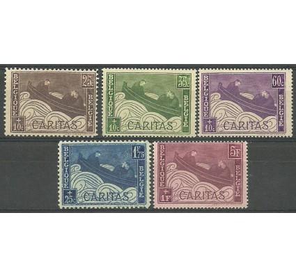 Znaczek Belgia 1927 Mi 230-234 Z podlepką *