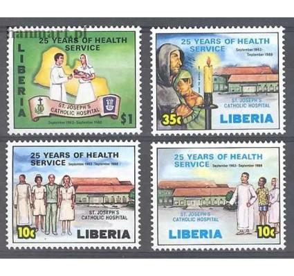 Znaczek Liberia 1988 Mi 1420-1423 Czyste **