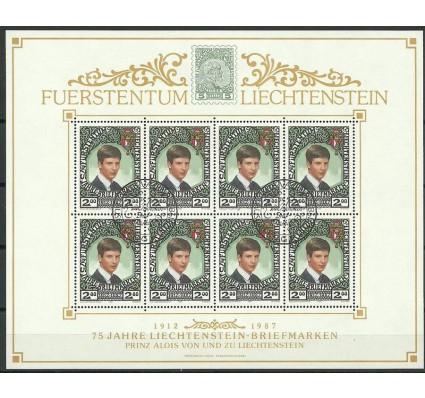 Znaczek Liechtenstein 1987 Mi ark 921 Stemplowane