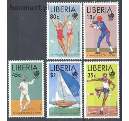 Znaczek Liberia 1988 Mi 1424-1428 Czyste **
