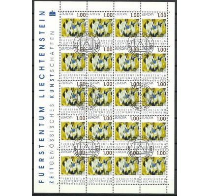 Znaczek Liechtenstein 1993 Mi ark 1055 Stemplowane