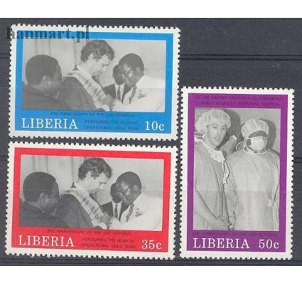 Liberia 1989 Mi 1439-1441 Czyste **