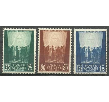 Znaczek Watykan 1944 Mi 96-98 Z podlepką *
