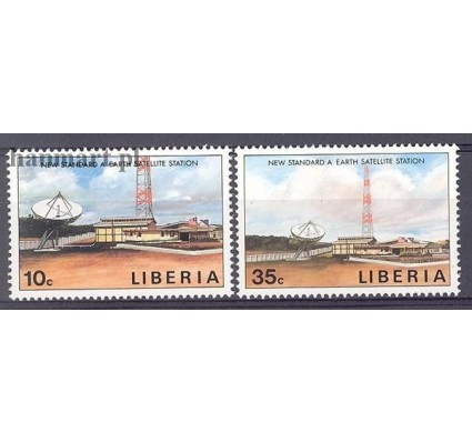 Liberia 1990 Mi 1467-1468 Czyste **