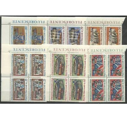 Znaczek Włochy 1968 Mi 1283-1288 Czyste **