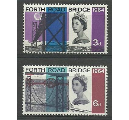 Znaczek Wielka Brytania 1964 Mi 382-383x Czyste **