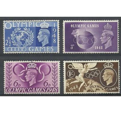 Znaczek Wielka Brytania 1948 Mi 237-240 Czyste **