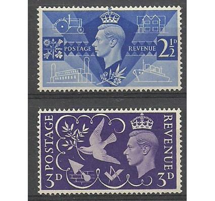 Znaczek Wielka Brytania 1946 Mi 231-232 Czyste **