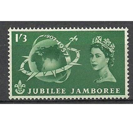 Znaczek Wielka Brytania 1957 Mi 301 Czyste **