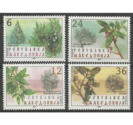 Znaczek Macedonia Północna 2001 Mi 234-237 Czyste **