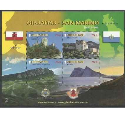 Znaczek Gibraltar 2010 Mi bl 93 Czyste **