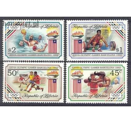 Znaczek Liberia 1992 Mi 1544-1547 Czyste **