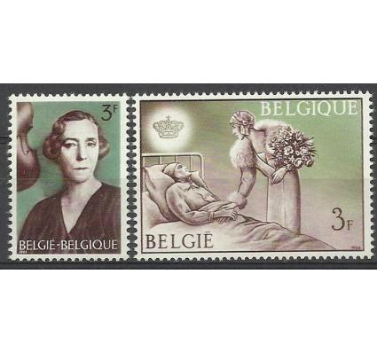 Znaczek Belgia 1966 Mi 1423-1424 Czyste **