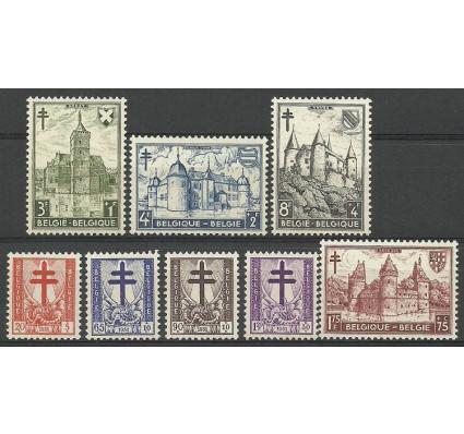 Znaczek Belgia 1951 Mi 914-921 Czyste **