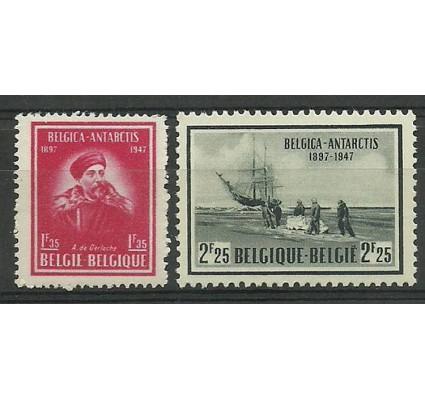 Znaczek Belgia 1947 Mi 791-792 Czyste **