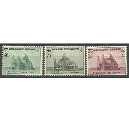 Znaczek Belgia 1938 Mi 486-488 Czyste **