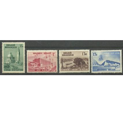 Znaczek Belgia 1938 Mi 482-485 Czyste **