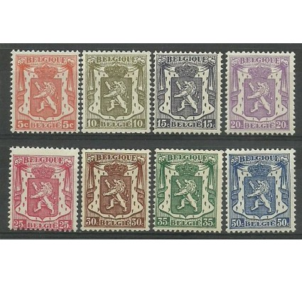 Znaczek Belgia 1936 Mi 415-422 Czyste **