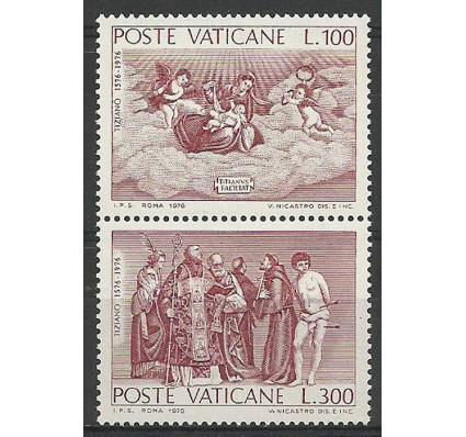 Znaczek Watykan 1976 Mi 678-679 Czyste **