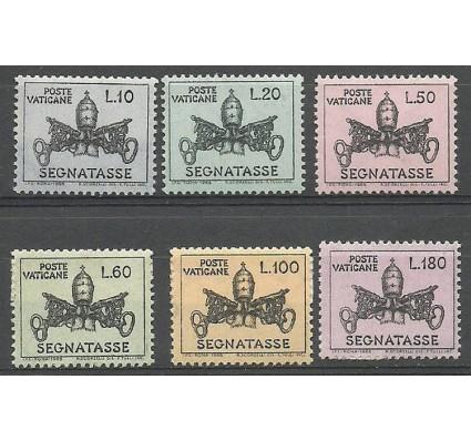 Znaczek Watykan 1968 Mi por 19-24 Czyste **