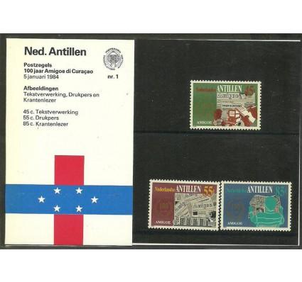 Znaczek Antyle Holenderskie 1984 Mi 513-515 Czyste **