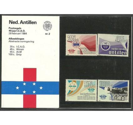 Znaczek Antyle Holenderskie 1984 Mi 516-519 Czyste **