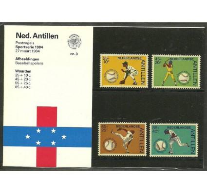 Znaczek Antyle Holenderskie 1984 Mi 520-523 Czyste **