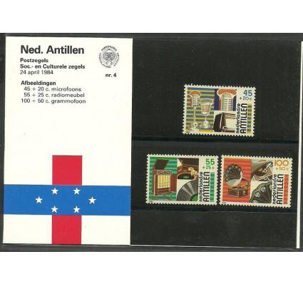 Znaczek Antyle Holenderskie 1984 Mi 524-526 Czyste **