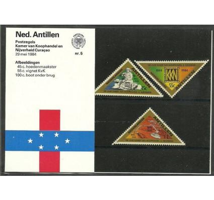 Znaczek Antyle Holenderskie 1984 Mi 527-529 Czyste **