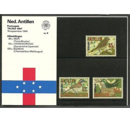Znaczek Antyle Holenderskie 1984 Mi 536-538 Czyste **