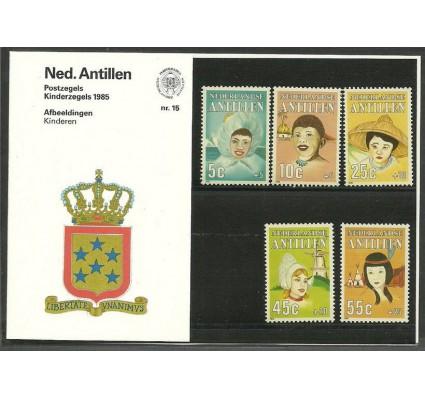 Znaczek Antyle Holenderskie 1985 Mi 564-568 Czyste **