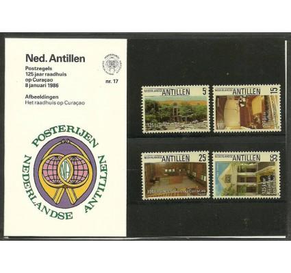 Znaczek Antyle Holenderskie 1986 Mi 578-581 Czyste **