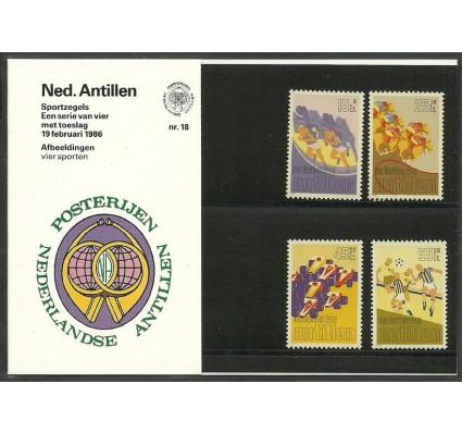 Znaczek Antyle Holenderskie 1986 Mi 582-585 Czyste **