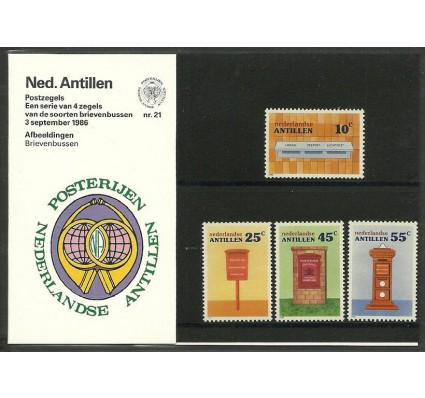 Znaczek Antyle Holenderskie 1986 Mi 592-595 Czyste **