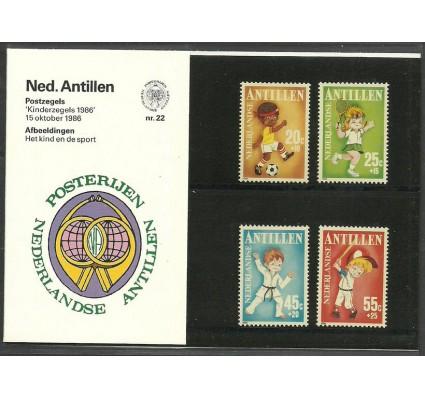 Znaczek Antyle Holenderskie 1986 Mi 596-599 Czyste **