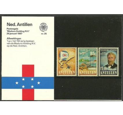 Znaczek Antyle Holenderskie 1987 Mi 605-607 Czyste **