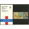 Antyle Holenderskie 1987 Mi 605-607 Czyste **