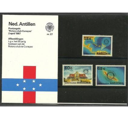 Znaczek Antyle Holenderskie 1987 Mi 611-613 Czyste **