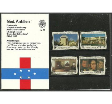 Znaczek Antyle Holenderskie 1987 Mi 615-618 Czyste **