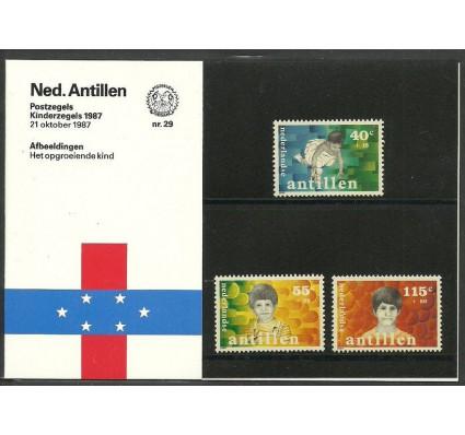 Znaczek Antyle Holenderskie 1987 Mi 619-621 Czyste **