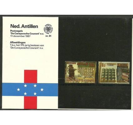 Znaczek Antyle Holenderskie 1987 Mi 625-626 Czyste **